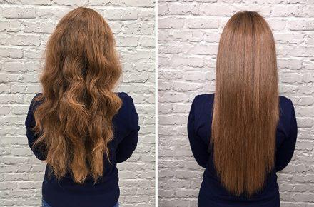 Keratin hair treatment, kathmandu